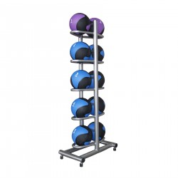 Vertical rack for medicine balls Sportmann