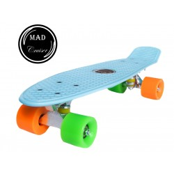 Penny board Mad Cruiser Original-albastru deschis