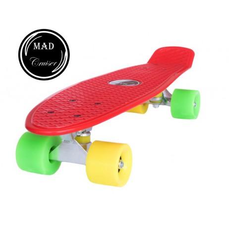 Penny board Mad Cruiser Original-rosu