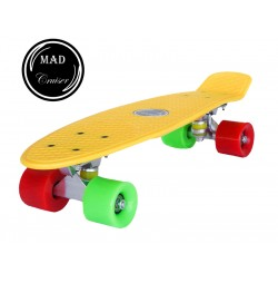 Penny board Mad Cruiser Original -yellow