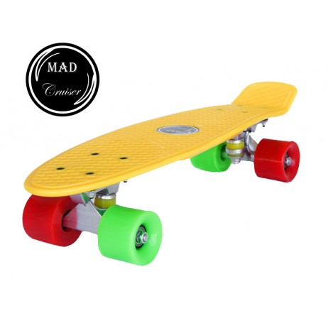 Penny board Mad Cruiser Original-galben