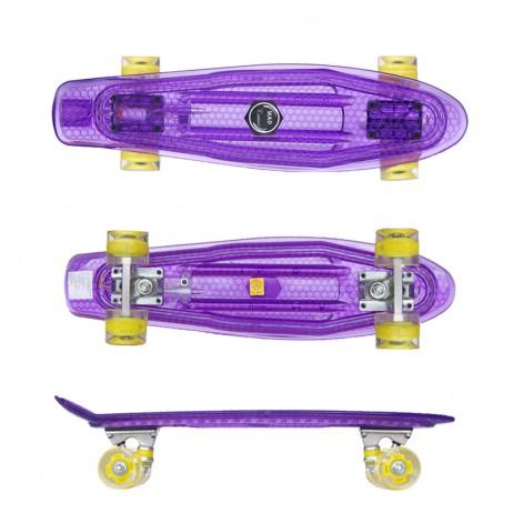 Penny board Mad Cruiser Full Led-mov