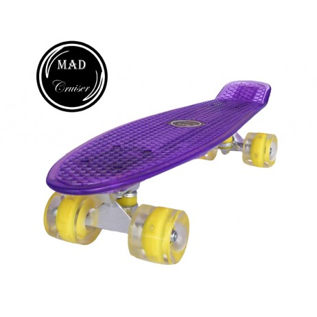 Penny board Mad Cruiser Full Led-mov