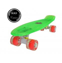 Penny board Mad Cruiser Full Led-verde