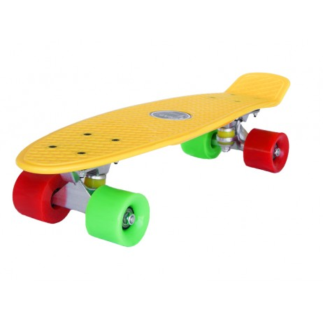 Penny board Mad Cruiser Original-galben
