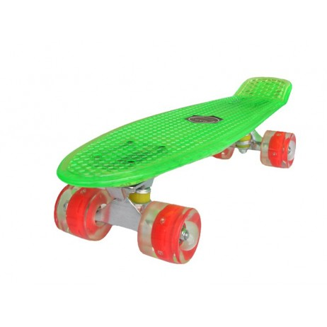 Penny board Mad Cruiser Full Led-green