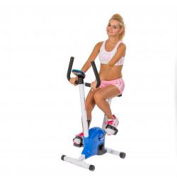 Bicicleta fitness Konfort Sportmann-albastra