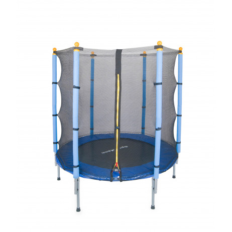 Trampoline and safety net Sportmann Fun 140 cm, blue