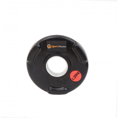 Rubber-coated Sportmann Delux 1.25kg/51mm Weight