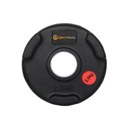 Rubber-coated Sportmann Delux 2.5kg/51mm Weight