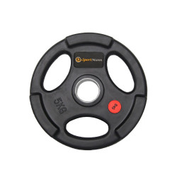 Rubber-coated Sportmann Delux 5kg/51mm Weight