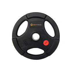 Rubber-coated Sportmann Delux 15kg/51mm Weight