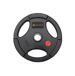 Rubber-coated Weight Sportmann 20kg/51mm