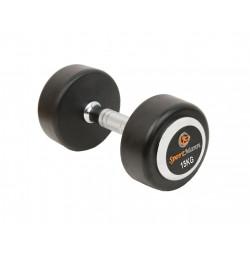 Rubber Dumbbell DELUXE Sportmann 15 kg