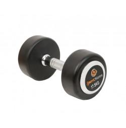 Rubber Dumbbell DELUXE Sportmann 17.5 kg