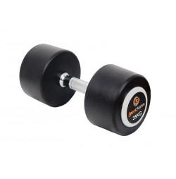 Rubber Dumbbell DELUXE Sportmann 35 kg