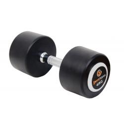 Rubber Dumbbell DELUXE Sportmann 40 kg