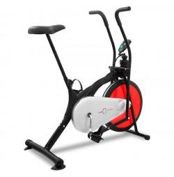 Червен фитнес велоергометър Hilton Racer K2