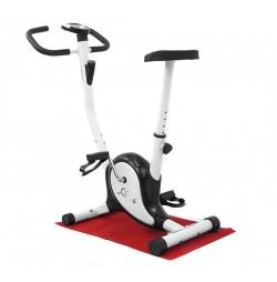 Черно-бял механичен велотренажор Hiton A3 Canary