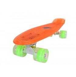 Penny board Mad Cruiser Full LED ABEC 7-oranj
