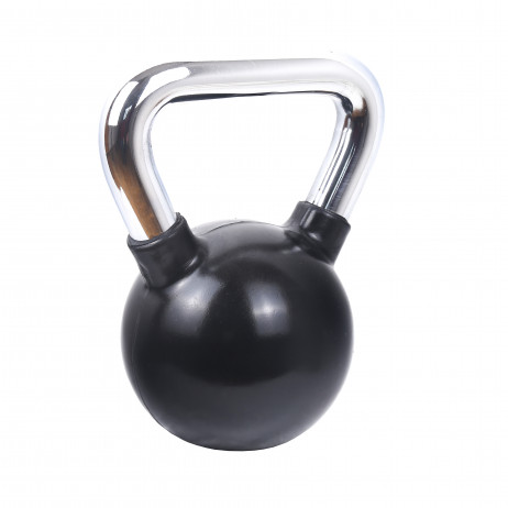 Hantel gumowany Kettlebell Sportmann 10kg